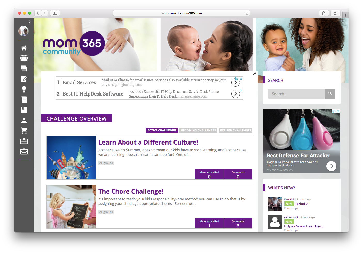 MOM365 Private Social Networking Software